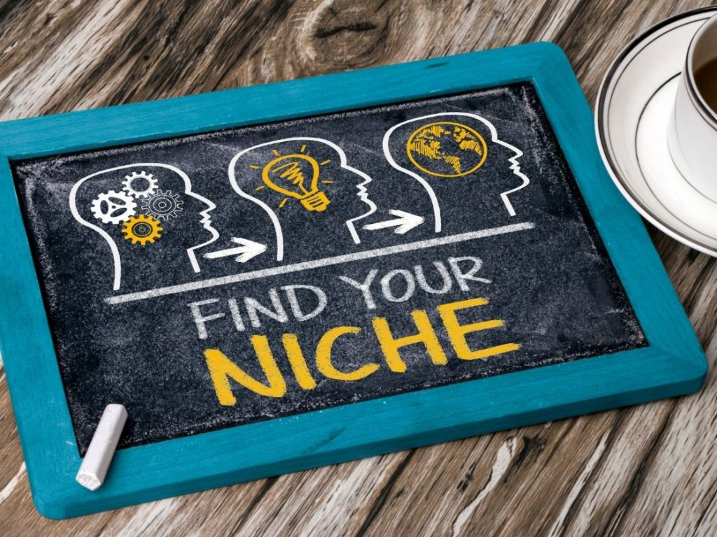 Find your niche in your affiliate marketing