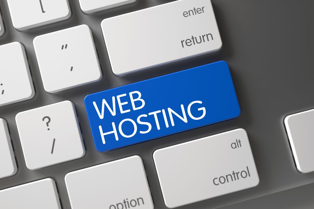 Web Hosting Concept Keyboard with Web Hosting - How to Choose a Web Host?