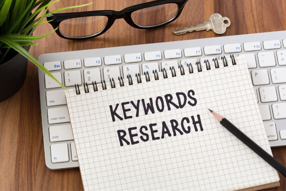 Keywords research is essential in SEO