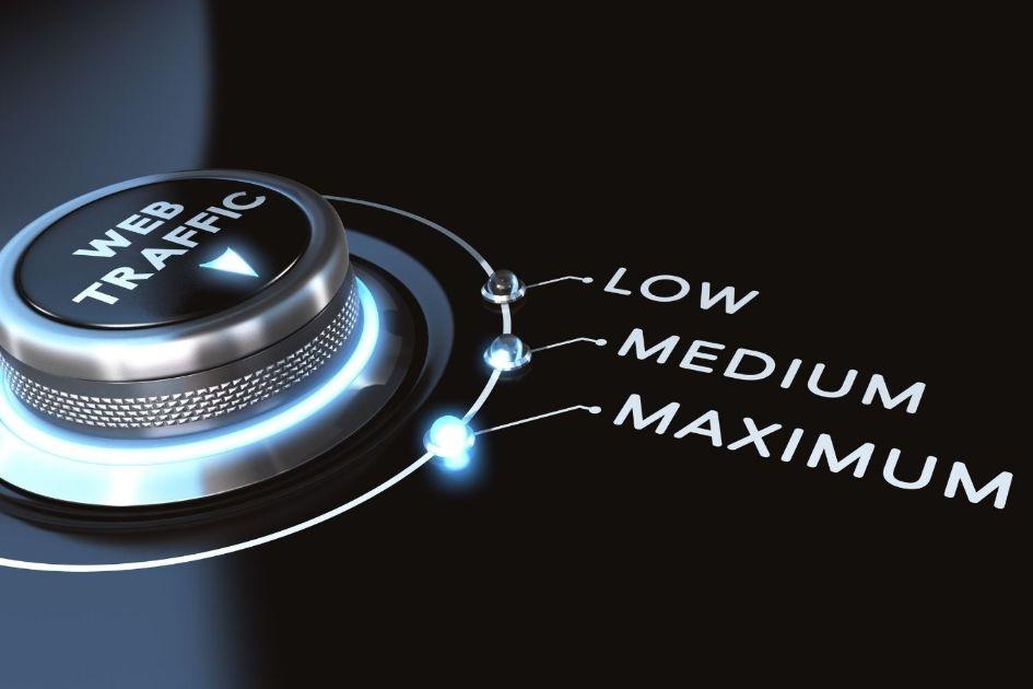 Low, Medium and Maximum Web Traffic