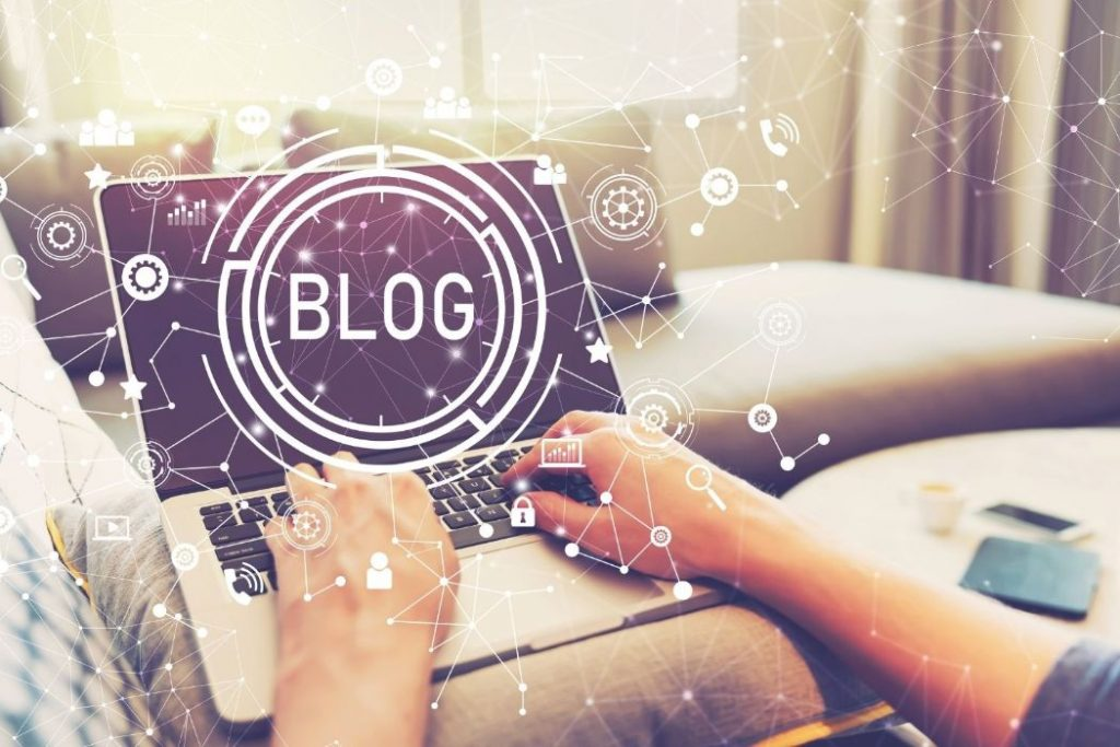 Your personal blog is a It's a good networking tool