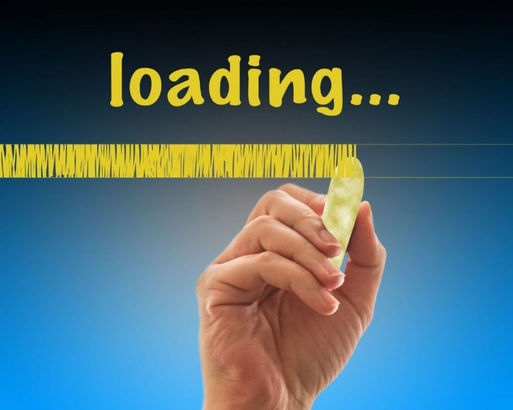 Slow loading time leads to high bounce rate