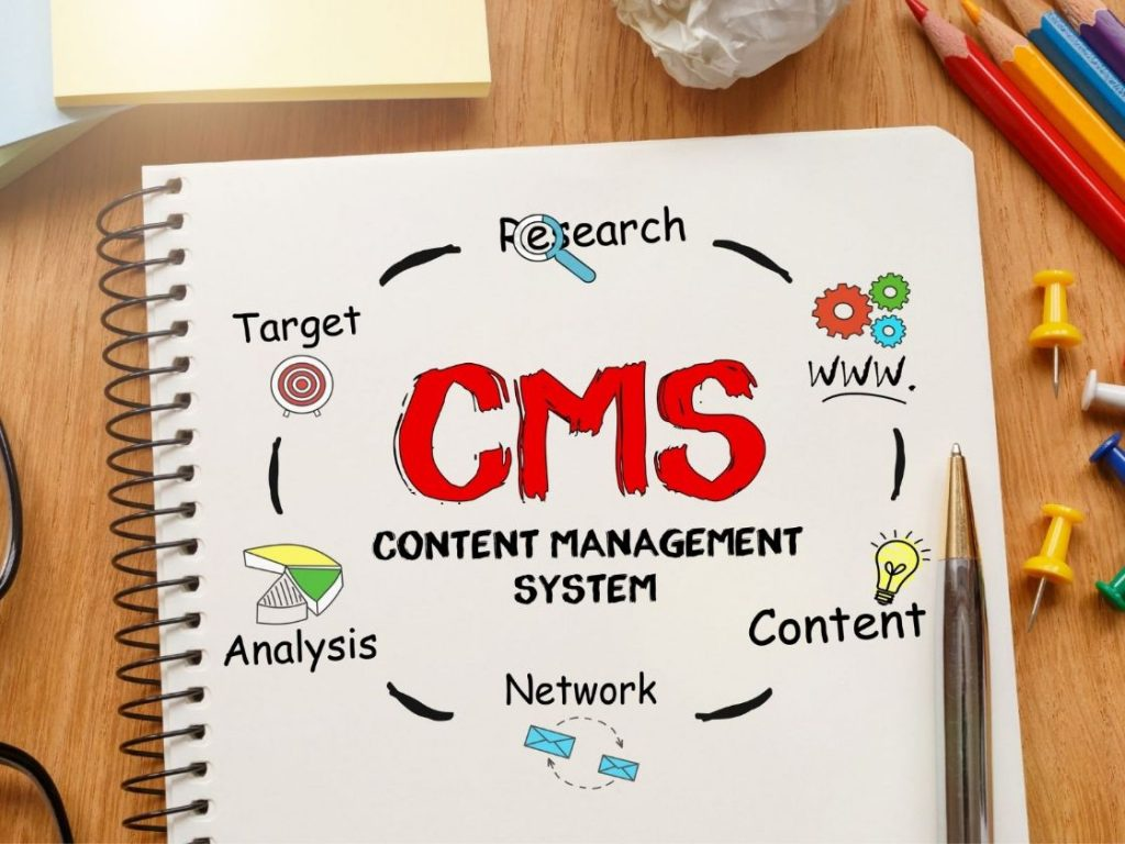 The content manager or CMS allows you to create, improve, and publish all your articles, videos, and images on your blog