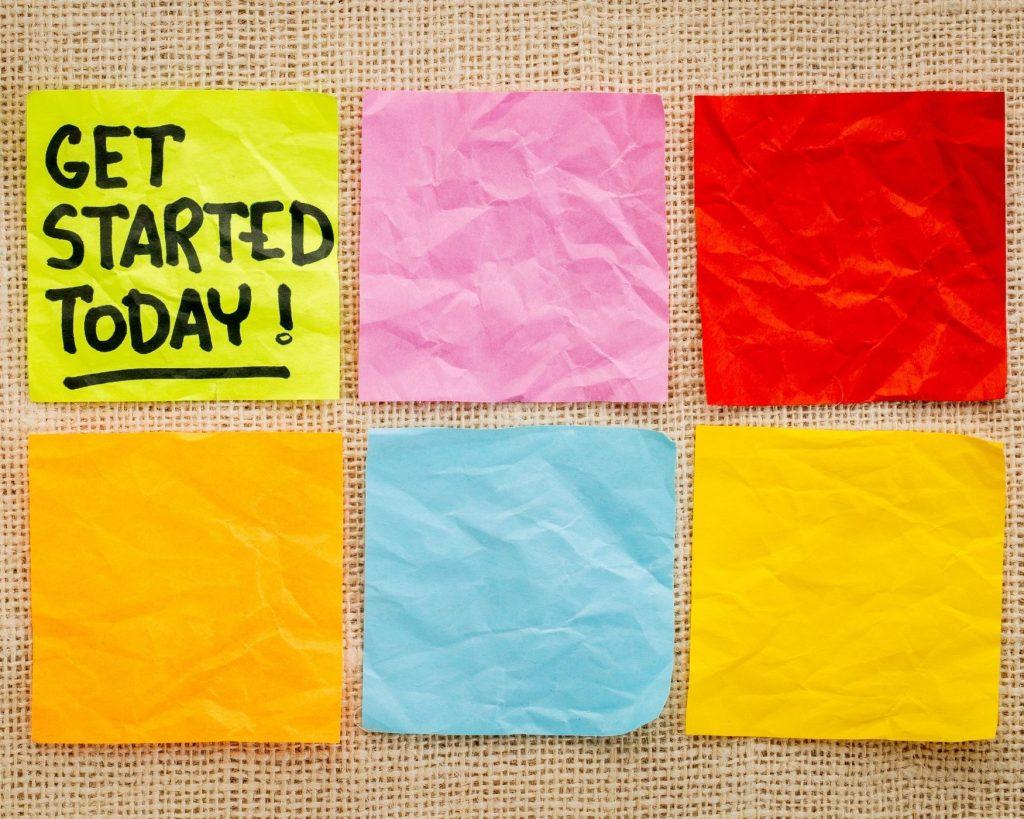 Get started blogging today