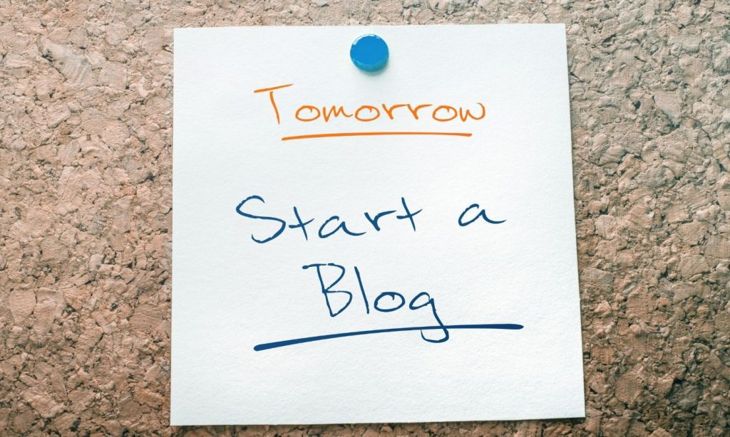 Have you ever thought about starting a blog? Now is the time!