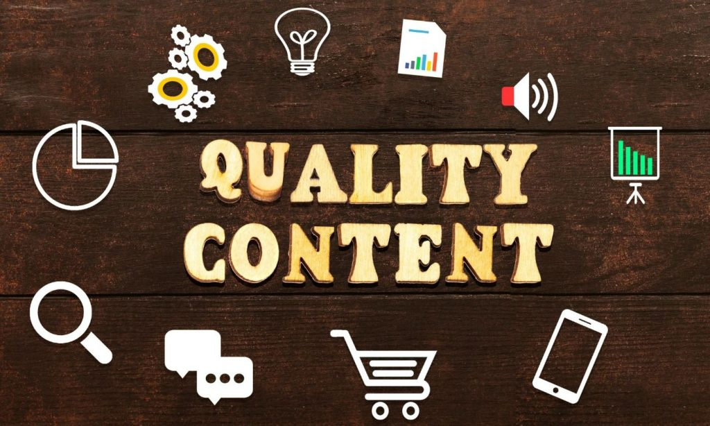 As a blogger you must try to Create quality content consistently