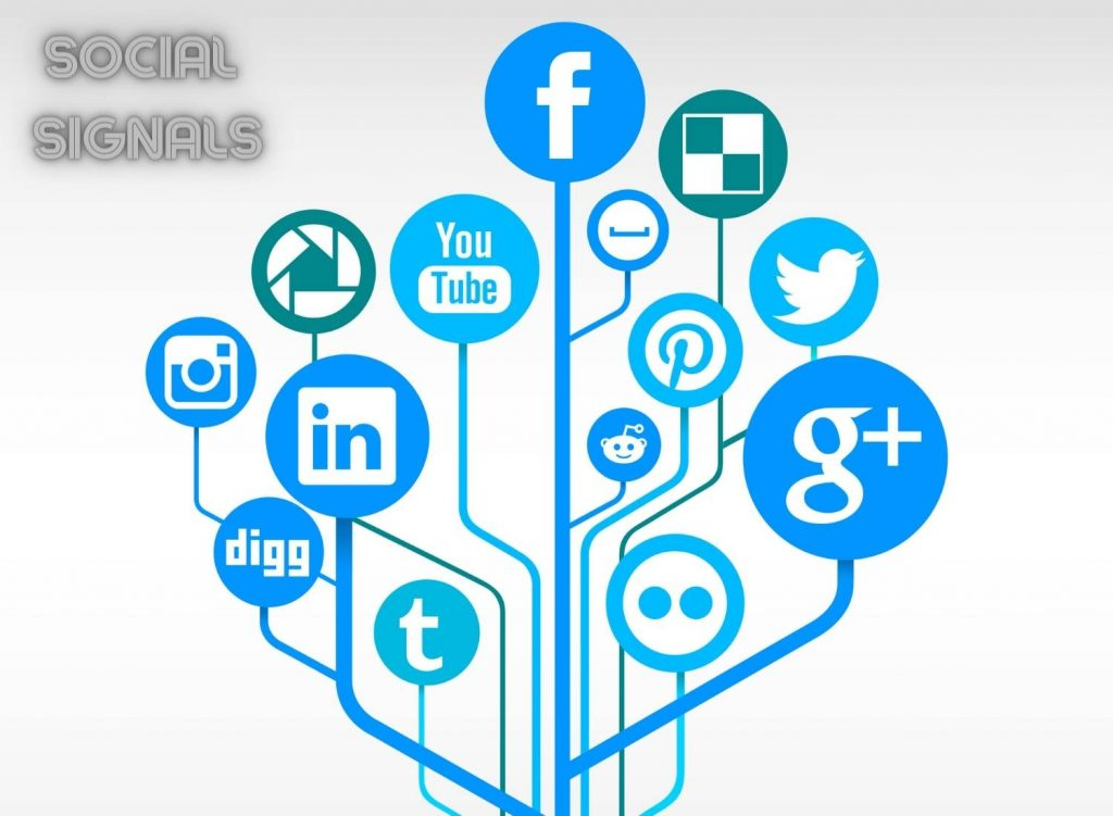 The link between social signals and search engine rankings