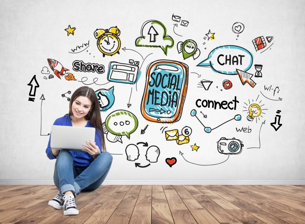 Use your existing social media is a great  way to generate leads