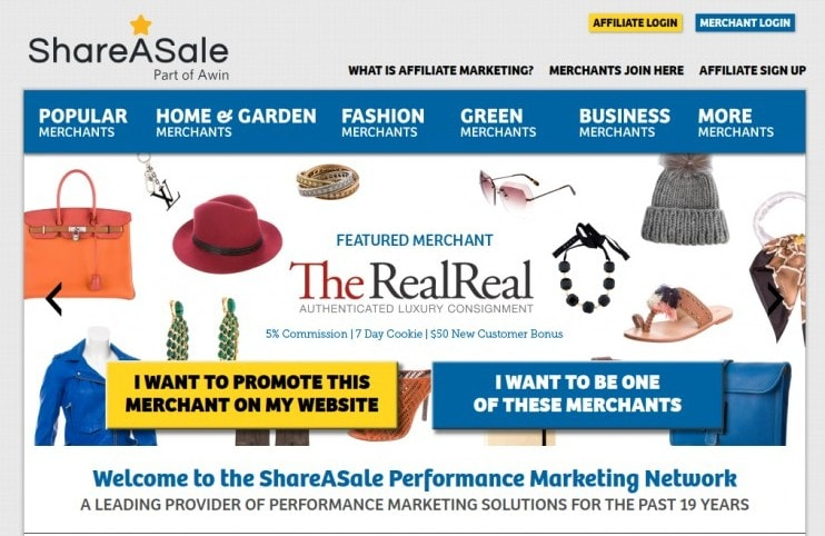 ShareASale is among the best affiliate networks you can join