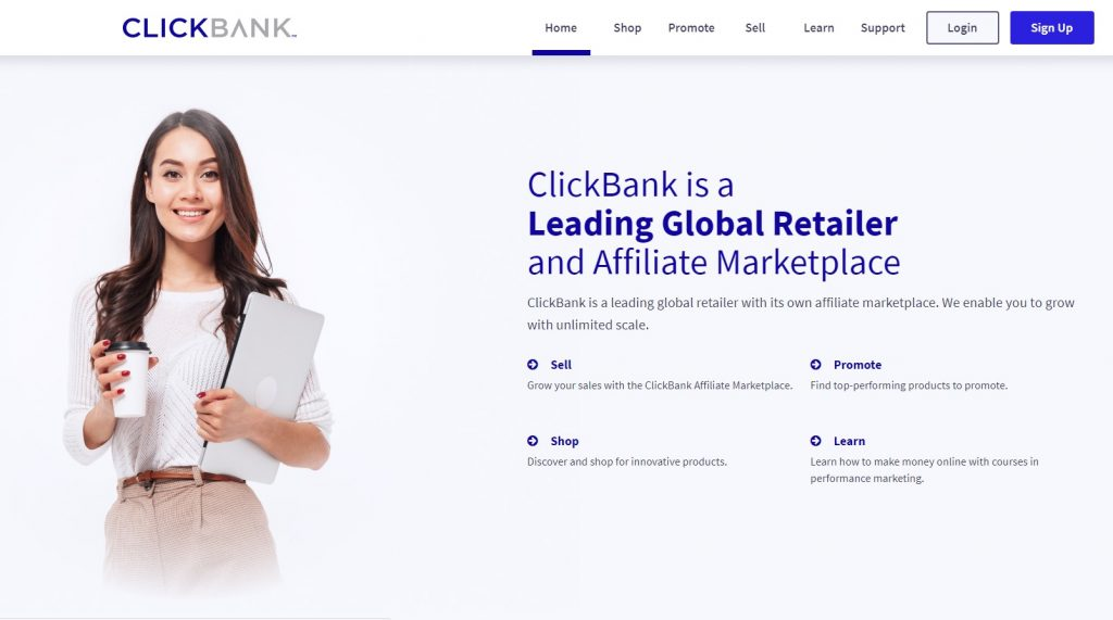 Clickbank is one of the best affiliate networks you can join