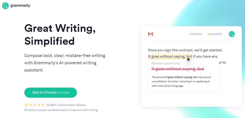 Grammarly Premium is a writing tool that helps you write better