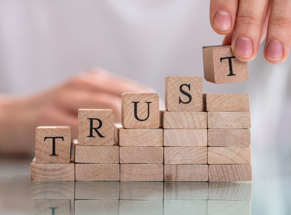 Your story must build trust