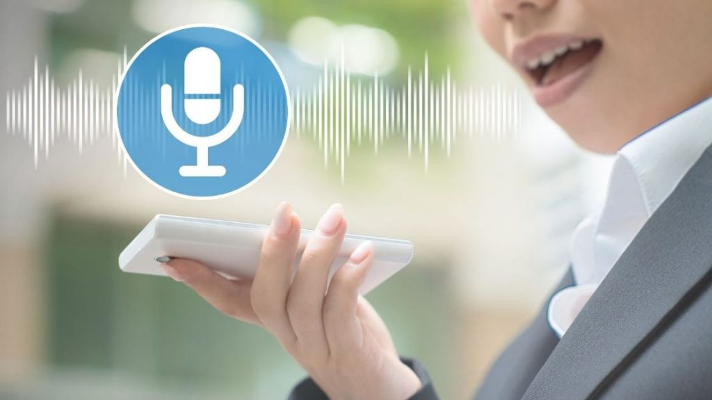 Use voice search