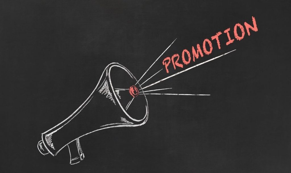 Lack of promotion outside the blog is on of the reasons why do blogs fail