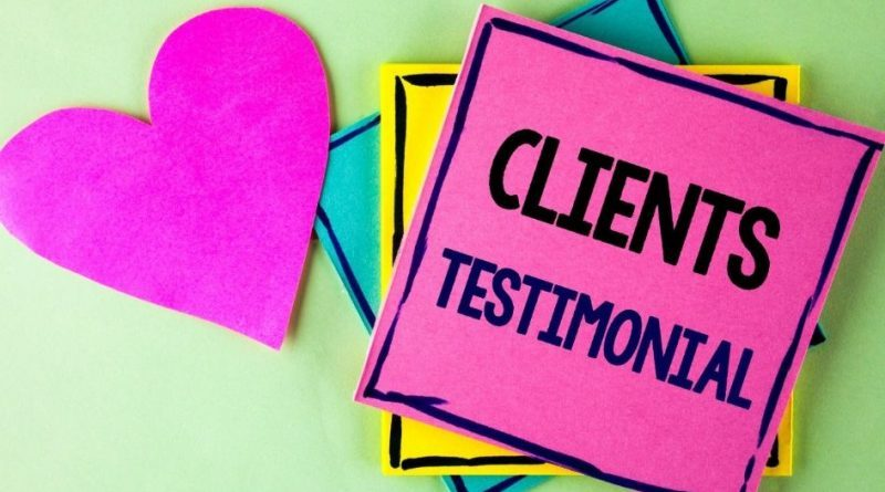 Using testimonials as blog content in 2021