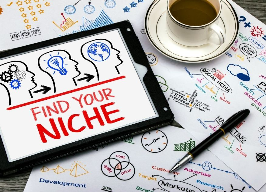 Choose the right niche for your blog to attract the right kind of audience