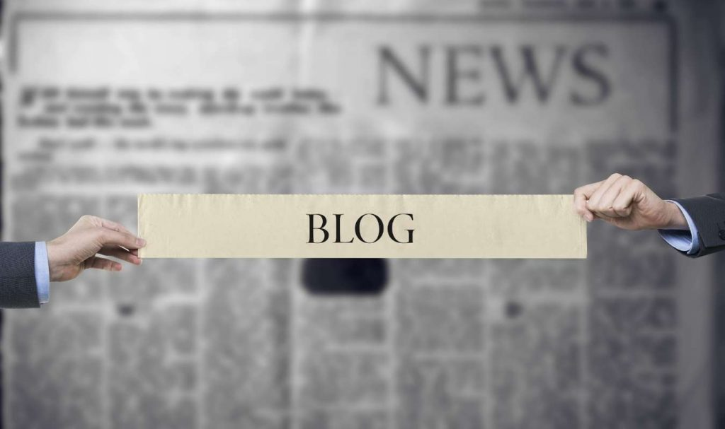 A blog post needs a title, an introduction, a body, and a conclusion