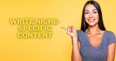 Write Niche-Specific Content